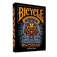 Карты Bicycle - Stained Glass Phoenix